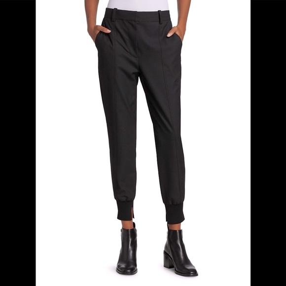 3.1 Phillip Lim hybrid jogger pants. Black, size 4